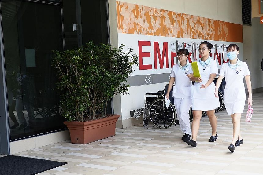 Since July 15, patients admitted to a community hospital from a public hospital's emergency department have been covered under MediShield Life. They can claim up to $350 a day, the prevailing inpatient limit for community hospitals.