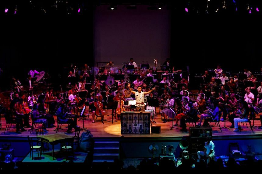 The performance will feature games from the past  while the Singapore Chinese Orchestra performs.