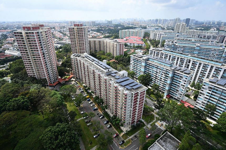 In mature estates, resale prices were up 0.4 per cent from September. But in non-mature estates, prices dropped 0.6 per cent.