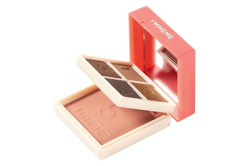 The I'm Multi Cube (005 All About Brown) by I'm Meme consists of four eyeshadow shades that can take you from work to a fancy dinner.