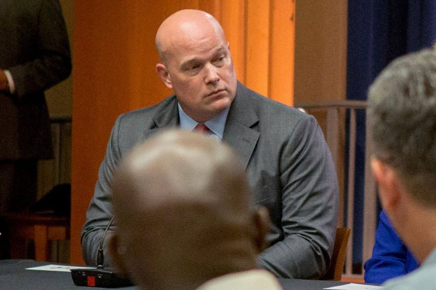 "Mr Matthew Whitaker, 48, has been viewed favourably by US President Donald Trump as his ""eyes and ears"" in the Justice Department."