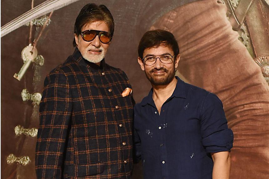 This year's big release for India's Diwali festival features superstars Aamir Khan and Amitabh Bachchan and costs US$42 million, making it the most expensive movie to date in the Hindi-language industry.
