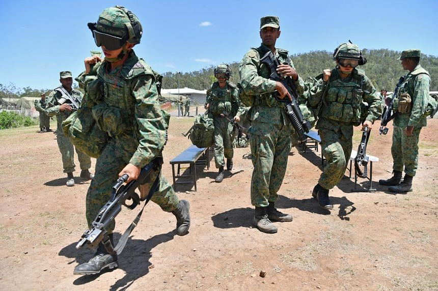 Exercise Trident, being held from Oct 31 to Nov 14, 2018, is the third phase of Exercise Wallaby and the signature bilateral exercise between the Singapore Armed Forces and the Australian Defence Force.