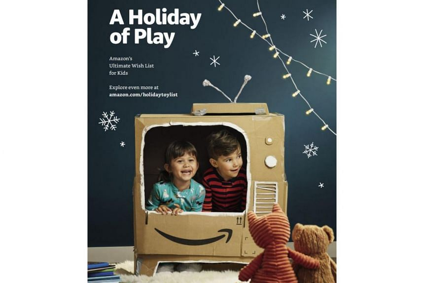 The Holiday Of Play catalogue features 70 pages of delighted, cosily clad kids surrounded by toys.