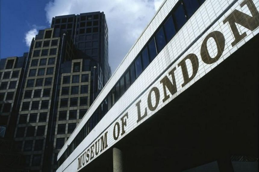 The Museum of London, established in 1976 and located now in the City of London, documents the history of Britain's capital city from prehistoric to modern times.