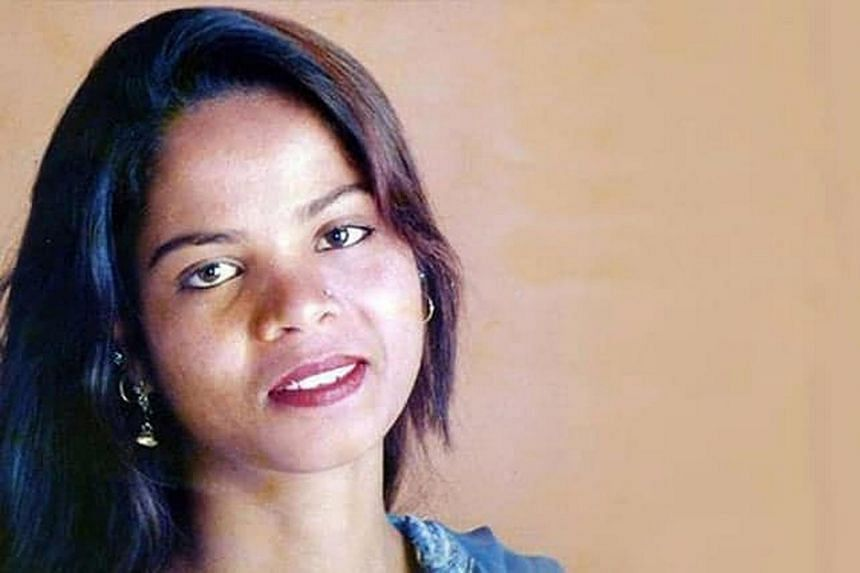 Ms Asia Bibi's release comes a week after her acquittal in a landmark case that triggered angry Islamist protests in Muslim-majority Pakistan.