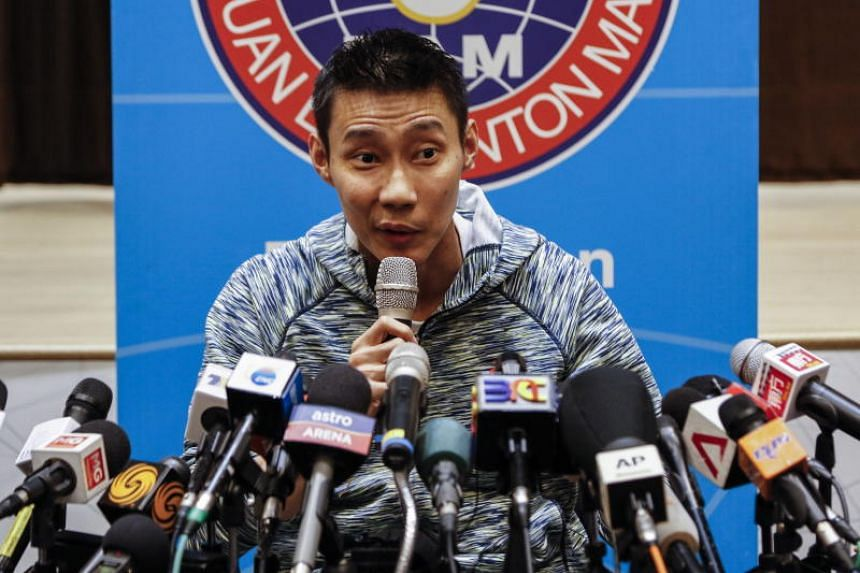 Lee Chong Wei said he could resume training as early as next month.