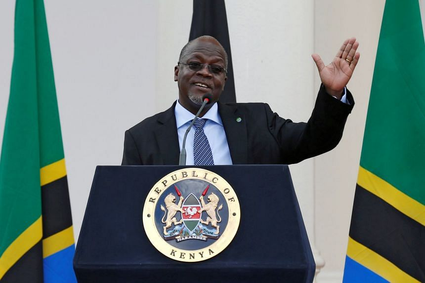 Since President John Magufuli (above) came to power, campaigners say organisations supporting gay people have been shut down and activists arrested.
