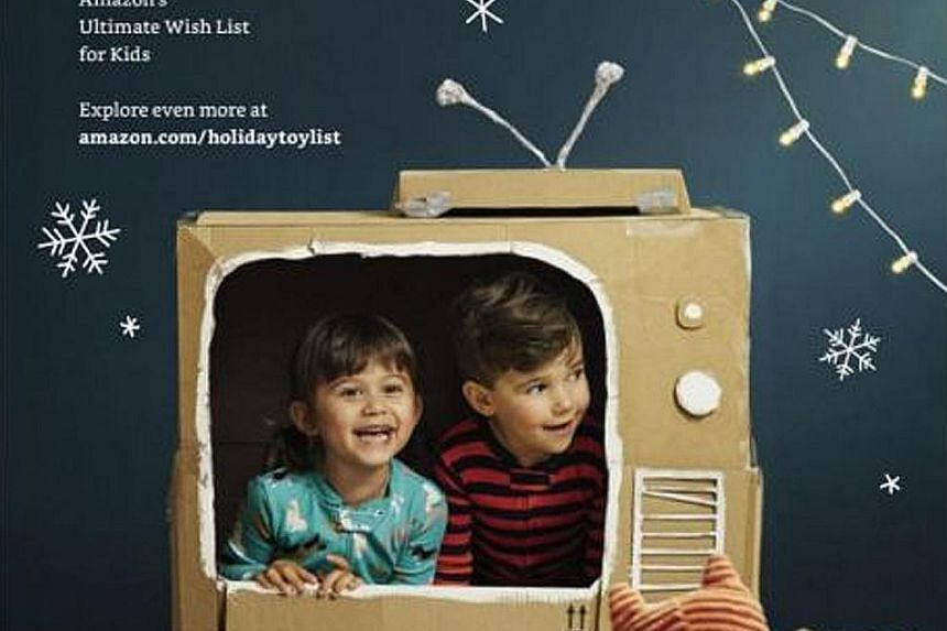 Amazon rolls out first toy catalogue in big play for holiday sales