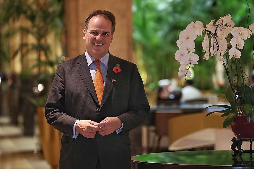 UK Minister of State Mark Field says Britain wants stronger ties with Asean in areas like trade and defence.