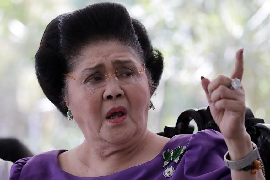 Former Philippine first lady Imelda Marcos faces imprisonment of between six and 11 years for each count of graft.