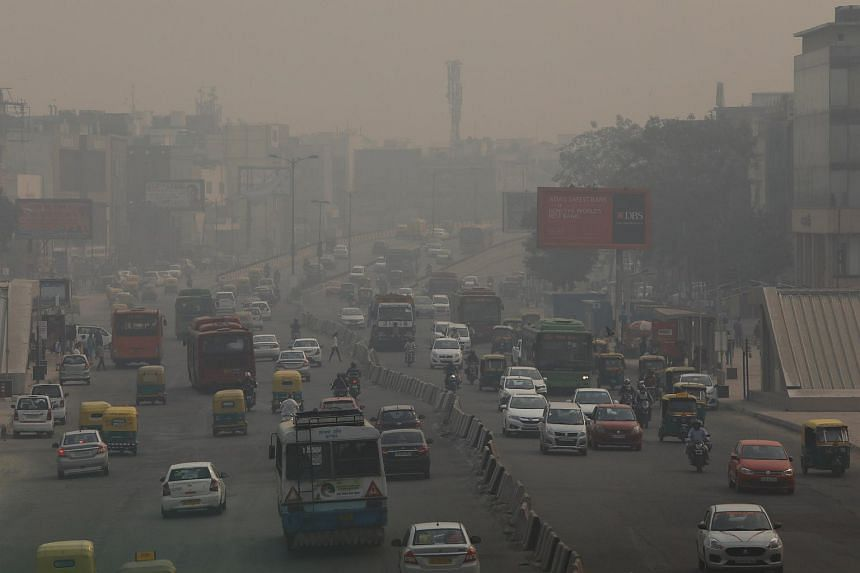 Delhi's air quality typically worsens in winter, as clouds of smoke from farmers' fires billow into the city and mix with industrial and traffic emissions to form a noxious cocktail.