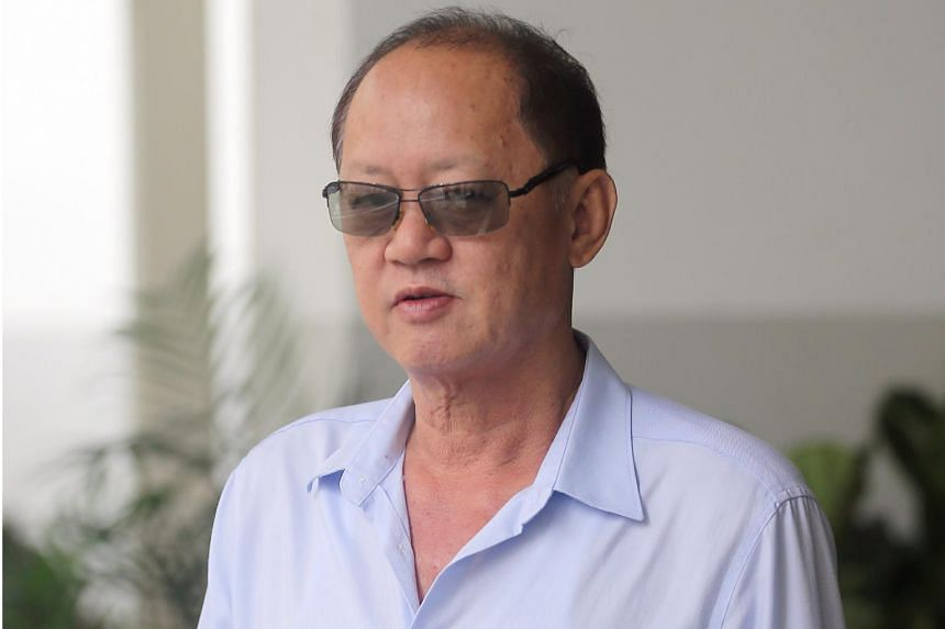 Chia Sin Lan (above) asked his business partner Tay Eng Chuan to apply for the debit card as he had a mistress and girlfriend, and did not want his family or company to know of certain expenses.
