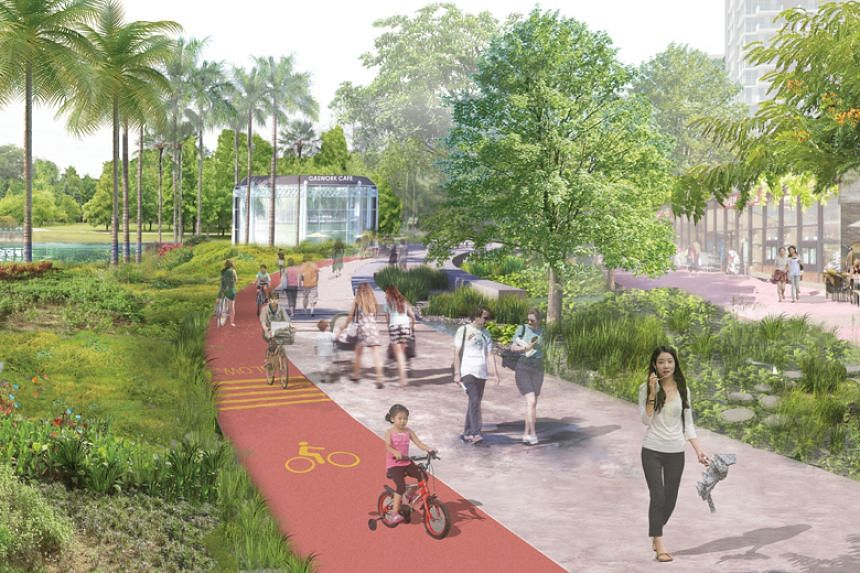 The precincts will have greater connectivity to public transport as well as alternative travel options such as walking, cycling and personal mobility devices.