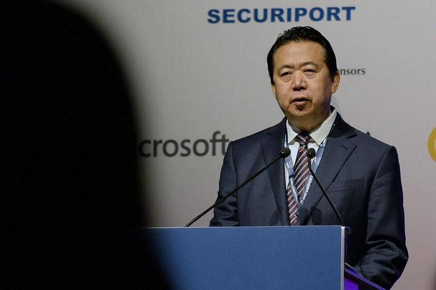 Former Interpol director Meng Hongwei was reported missing in early October.