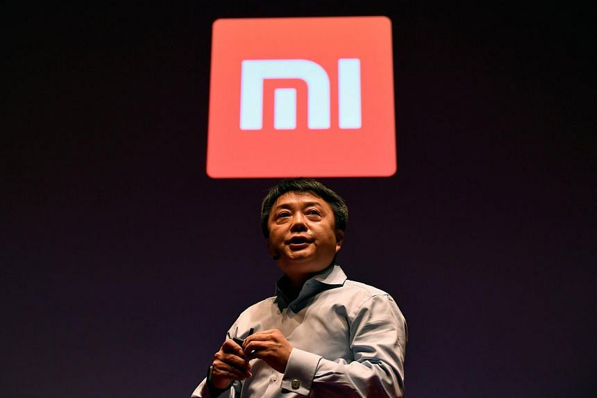 Xiaomi's senior vice-president Xiang Wang, speaking at a UK launch event in London, Britain, on Nov 8, 2018.