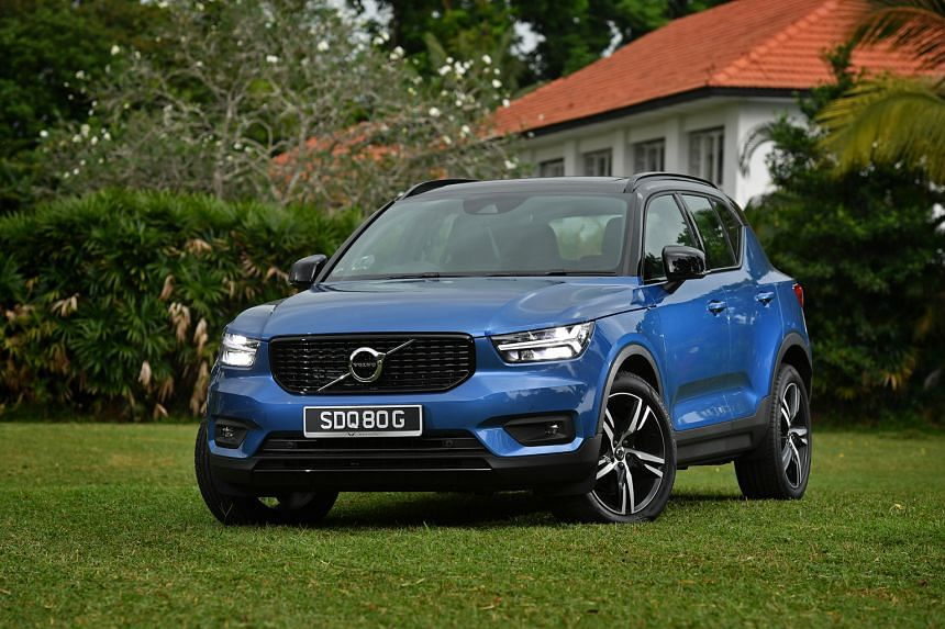 The Volvo XC40 T4 (above) has a roomy boot and its seats are supportive yet comfy.