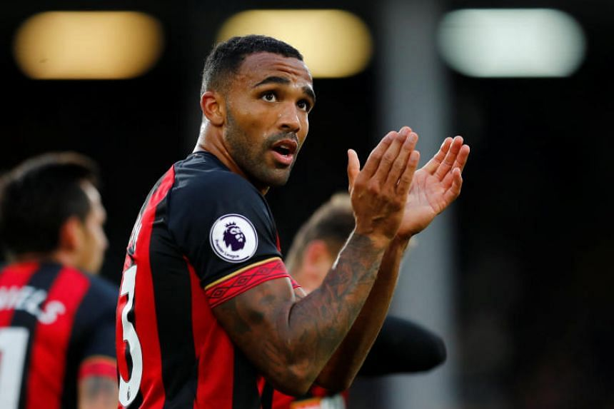 "Callum Wilson (above) is a ""threat in terms of running in behind defences"", says manager Gareth Southgate."