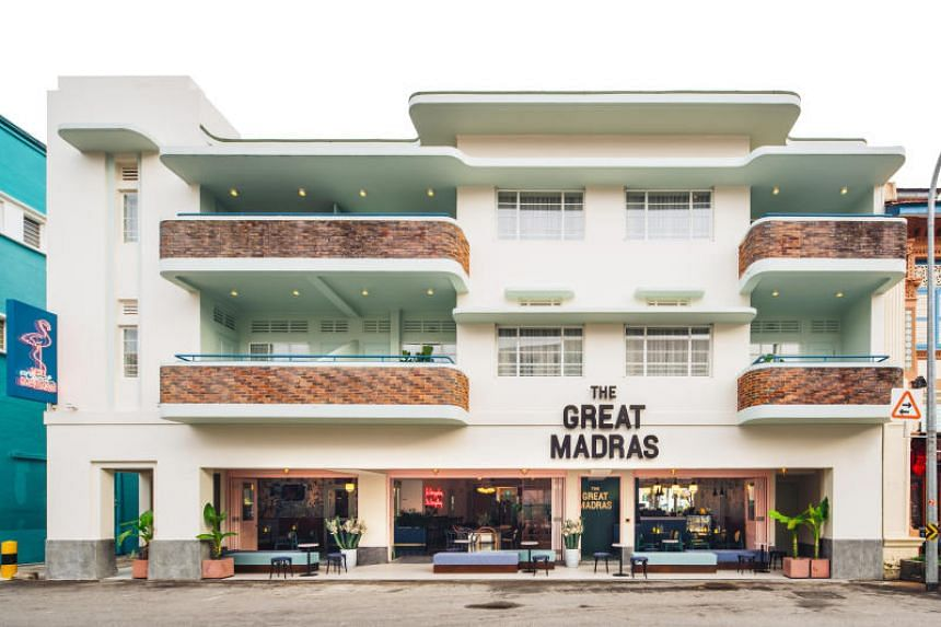 The Great Madras was acknowledged for embracing a consistent Art Deco-inspired design and branding.