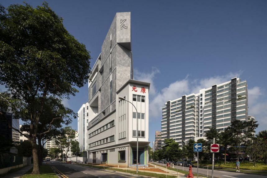 The Khong Guan Building was given an award for restoration and innovation.