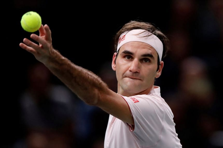 Federer (above) is playing in the season-ending finale for a 16th time and has tasted victory on a record six occasions.