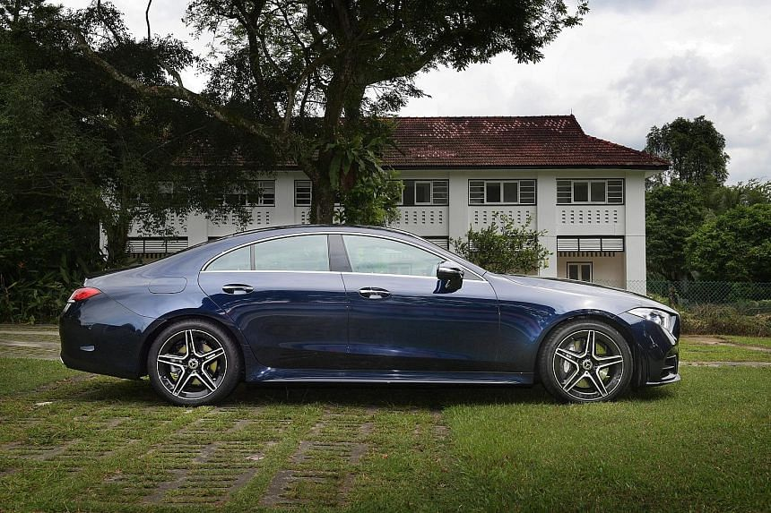 """Mercedes-Benz pioneered the """"four-door coupe"""" genre 15 years ago and the latest CLS is a suitable response to all the alternatives which have sprouted since 2003."""