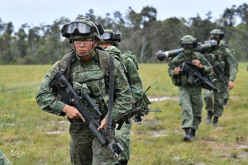 Exercise Trident is the third phase of Exercise Wallaby, which is SAF's largest overseas training exercise and began in September.