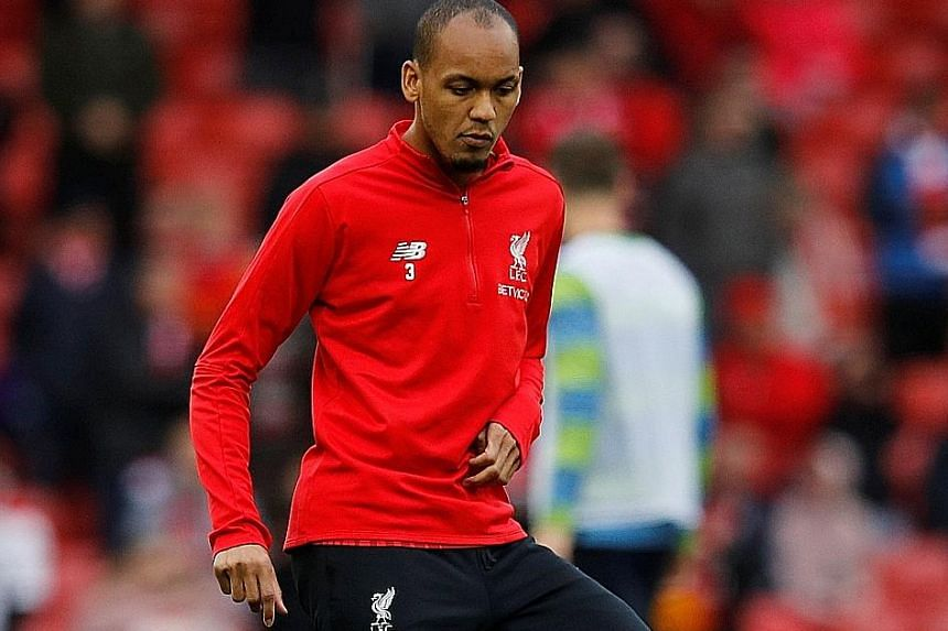 Liverpool new boys Fabinho (above) and Naby Keita have not managed to earn a regular place in the starting line-up despite a combined £90 million (S$161 million) price tag.