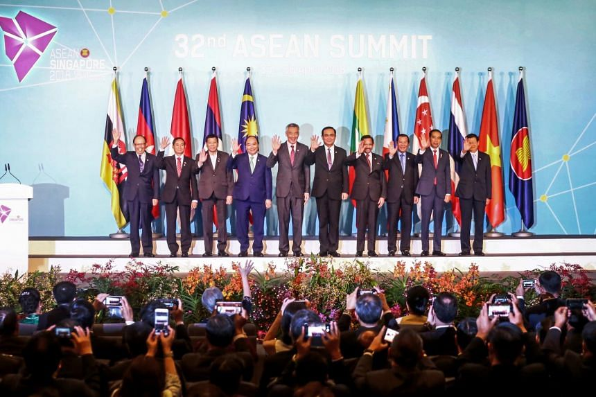 Asean leaders will gather for the 33rd Asean Summit in Singapore, which marks the final milestone of Singapore's chairmanship of Asean.