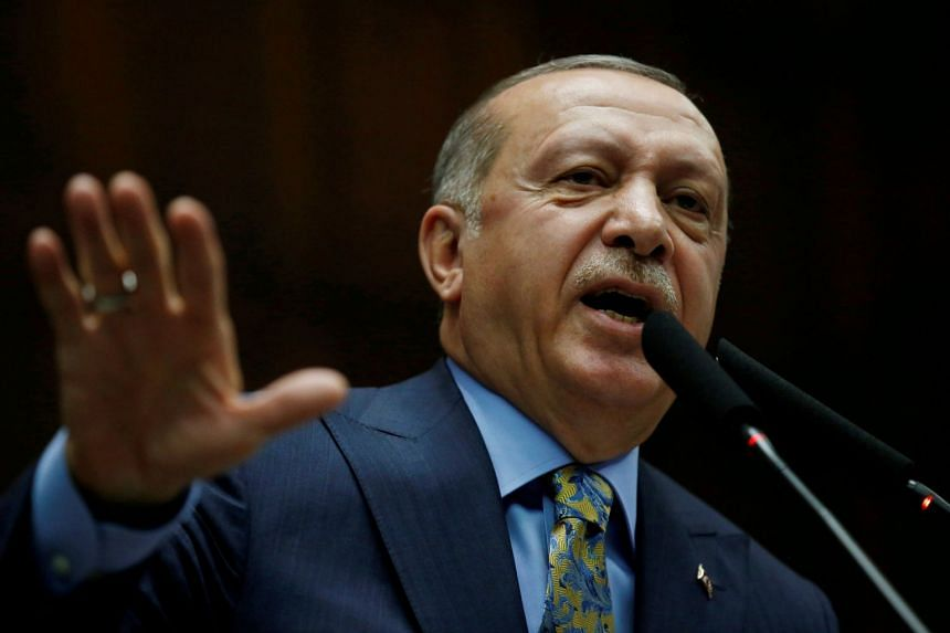 Turkey's President Tayyip Erdogan said the tapes were given to Saudi Arabia, the US, Germany, France and Britain.