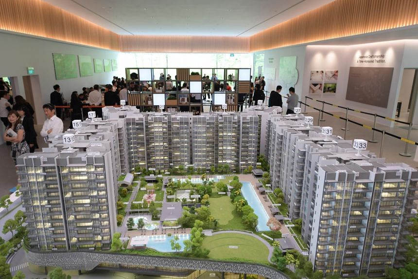 Woodleigh Residences, which will be built above a shopping mall and Woodleigh MRT station, is slated for completion by the end of August 2022.