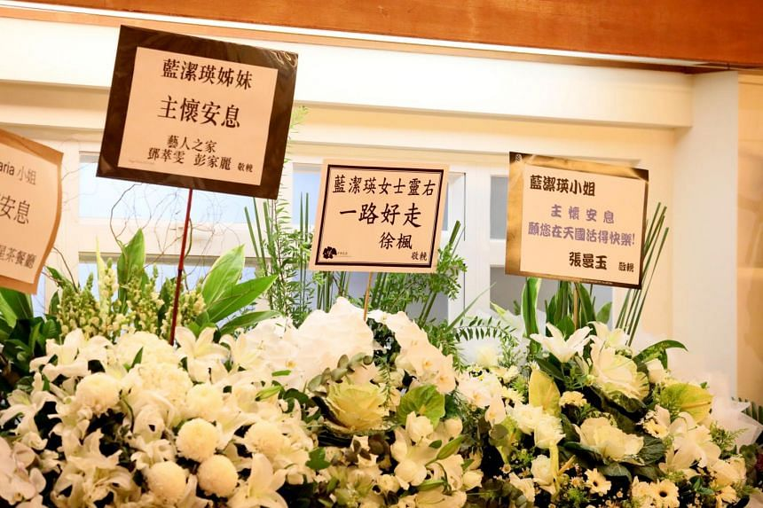 A crowd of 300 paid their last respects to the late Yammie Lam at St Anne's Church in Stanley, Hong Kong, on Nov 9, 2018.