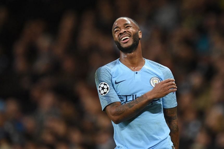 pick up 7c71f 38fee Football: Manchester City's Raheem Sterling signs contract ...