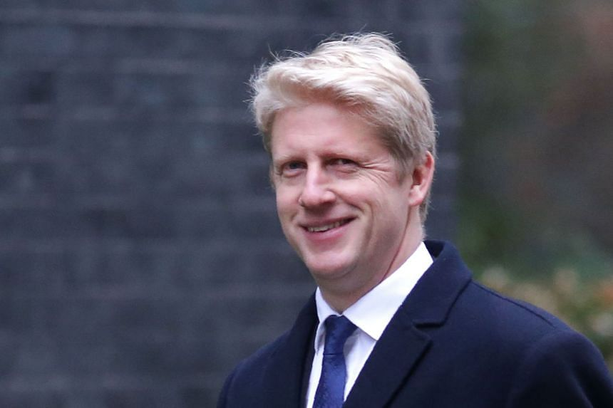 "Jo Johnson (above) quit as junior transport minister,  calling British PM Theresa May's Brexit plans ""delusional""."