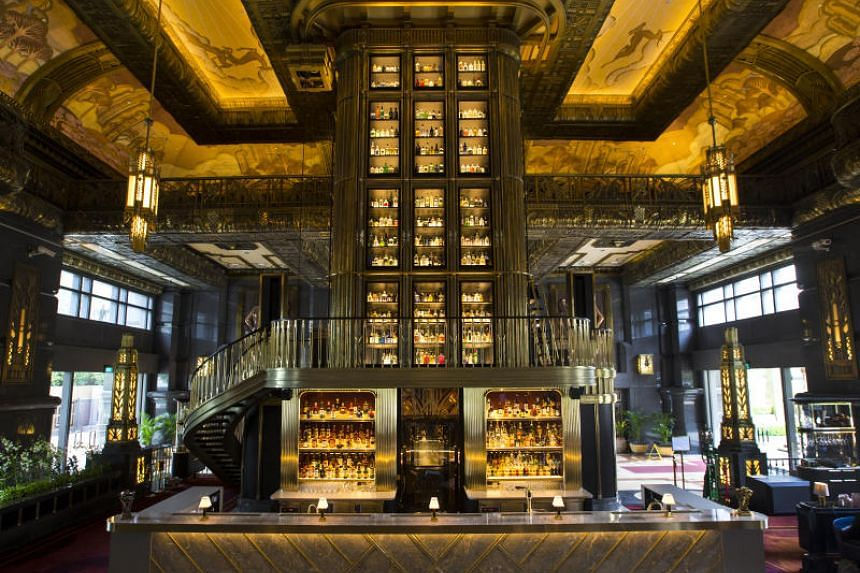 Three of the bottles are housed in Atlas' champagne room beneath its centrepiece gin tower. They retail at $190,700 a bottle.