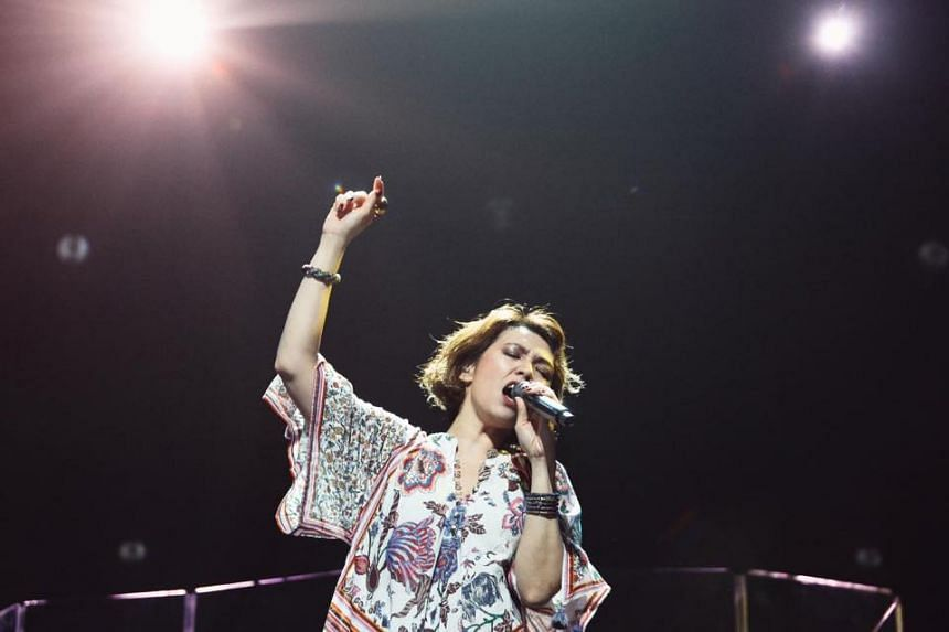 Kit Chan's latest concert was a reflective and intimate affair, in contrast with her 2015 show at The Star Theatre, which felt more fun and featured glitzier costumes.