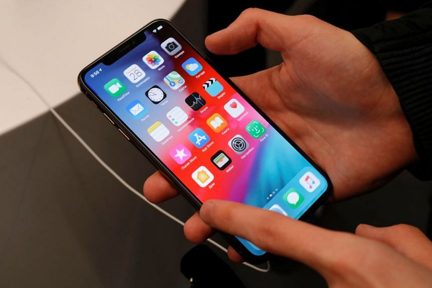 Apple said displays on iPhone X may experience touch issues due to a component failure, adding it would replace those parts for free.