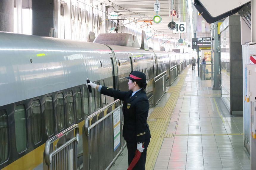 """""""The development of the shinkansen which linked the two major cities of Tokyo and Osaka at 210kmh truly inspired the Japanese people and gave us hope for the future,"""" Prime Minister Shinzo Abe told a forum this week."""