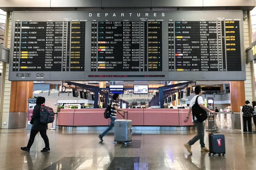 The Straits Times understands that while there are no plans to close the airspace to accommodate the arriving flights, there will be airspace control measures which include maintaining a greater gap between VIP flights and other commercial services.