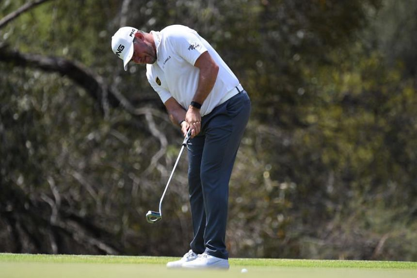 Lee Westwood carded a faultless 64 that included an eagle and six birdies for a tournament total of 15 under.