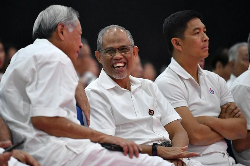 Masagos Zulkifli at the PAP Conference and Awards Ceremony at Singapore Expo, Hall 8 on Nov 11, 2018. ST PHOTO: LIM YAOHUI