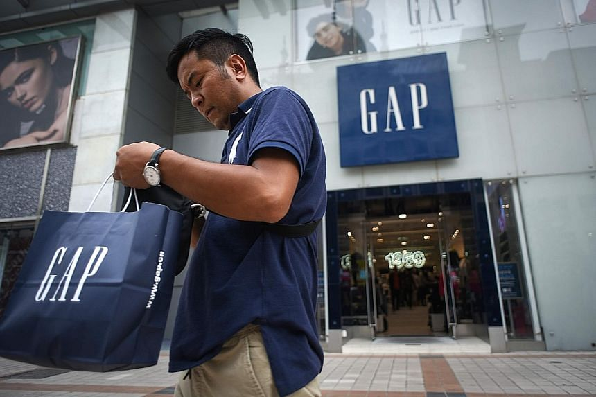 A Gap retail store in Beijing. China will release its remaining October data this week, while the United States' October consumer price index is due out on Wednesday, advance retail sales on Thursday and October industrial production on Friday.