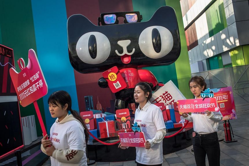 Alibaba logged US$30.8 billion (S$42.5 billion) in sales for its annual Singles' Day extravaganza in 2018, setting a new record.
