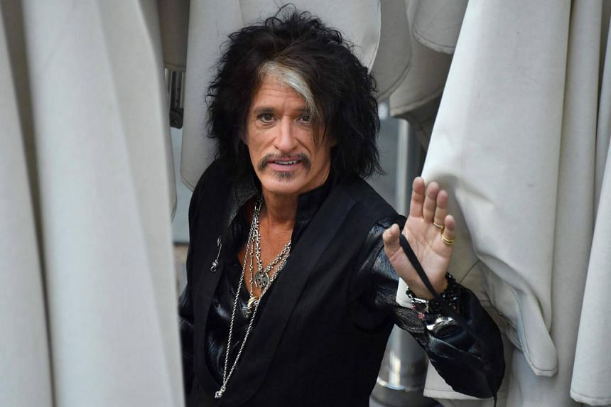 "Joe Perry suffered ""shortness of breath and was treated backstage by paramedics who gave the guitarist oxygen and used a tracheal tube to clear his airway"", said a statement."