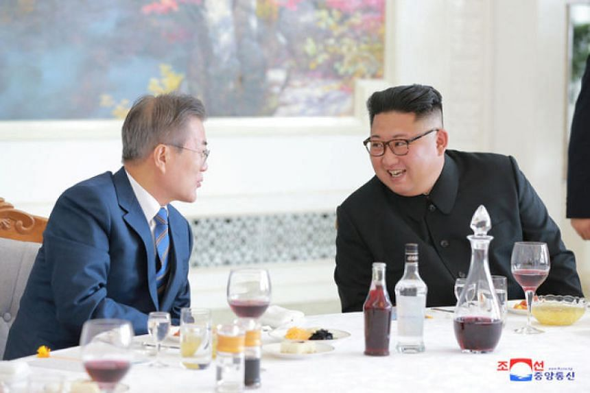 South Korea's Moon Jae-in administration is pushing to hold the fourth inter-Korean summit between President Moon and North Korean leader Kim Jong Un in Seoul within the year.