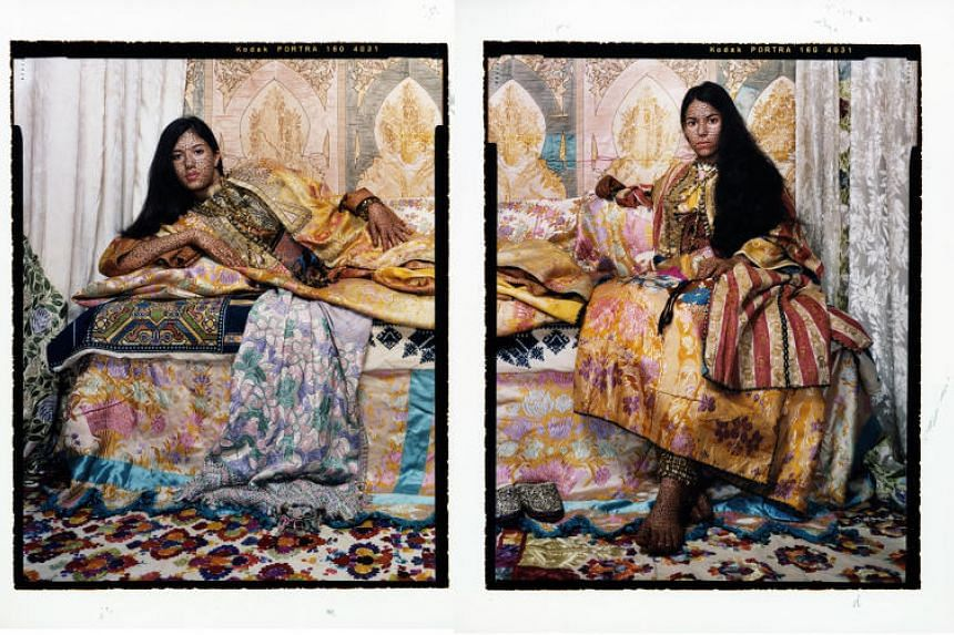 Artist Lalla Essaydi's photographs of contemporary Arab women are on display at Gillman Barracks until Dec 15.