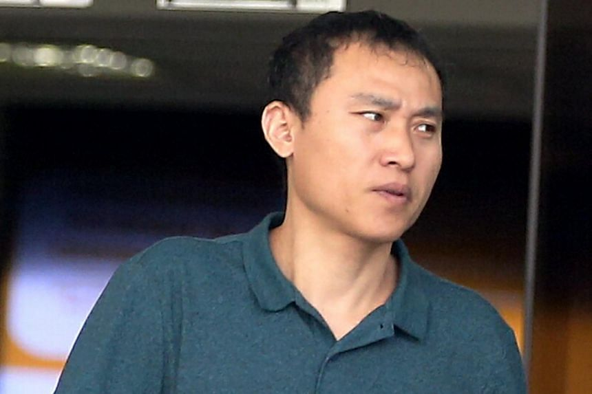 Passengers had to intervene after Lu DeJiang (above) grabbed the neck of the bus driver, whose head almost hit the steering wheel during the confrontation.