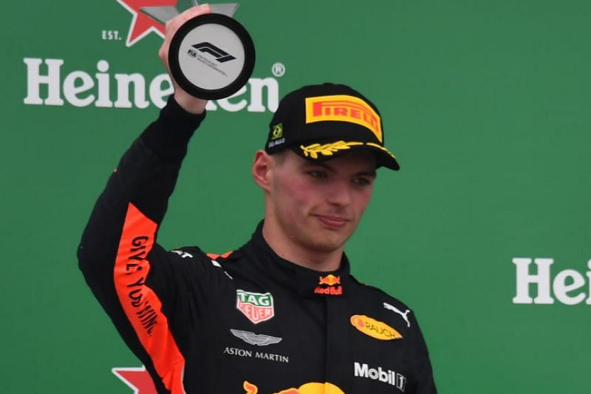 Formula One driver Max Verstappen was ordered to complete two days of public service following an angry confrontation with Force India's Esteban Ocon on Nov 11.