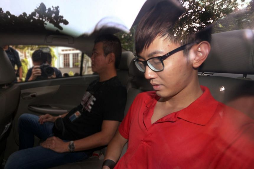 Neo Chun Zheng fatally stabbed his girlfriend in the neck with a folding knife outside his Boon Lay flat on Nov 26, 2015.