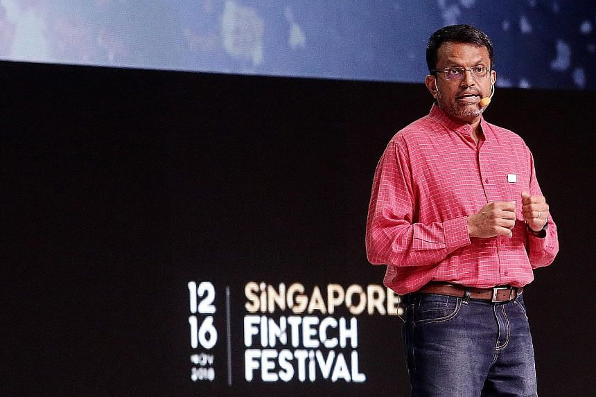MAS managing director Ravi Menon says data must be used in a responsible, transparent and ethical manner.